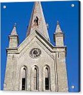 St. John's Church Cesis Acrylic Print