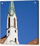 St. John's Church Riga Acrylic Print