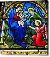 St Johns Church Wash Dc . Acrylic Print