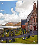 St  Johns Episcopal Ballachulish Acrylic Print