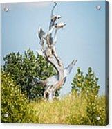 St. Joseph Michigan And You Seas Metal Sculpture Acrylic Print by Paul Velgos