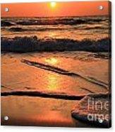 St. Joseph Sunset Swirls Acrylic Print