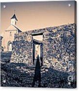 St. Josephs Church Maui Hawaii Acrylic Print by Edward Fielding