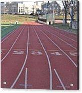 St Josephs University Track Acrylic Print