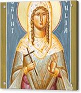 St Julia Of Carthage Acrylic Print