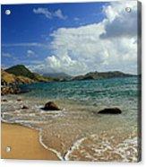 St. Kitts Beach Acrylic Print