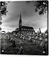 St Libory Church Acrylic Print