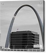 St. Louis Arch From Busch Stadium Acrylic Print