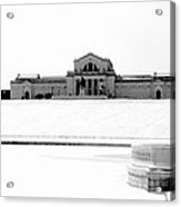 St Louis Art Museum And Art Hill Acrylic Print