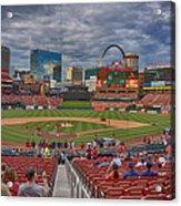 St Louis Cardinals Busch Stadium Dsc06139 Acrylic Print