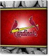 St Louis Cardinals Acrylic Print