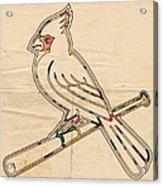 St Louis Cardinals Logo Art Acrylic Print