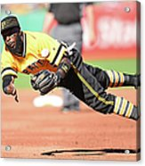 St. Louis Cardinals V Pittsburgh Pirates Acrylic Print