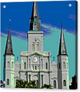 St Louis Cathedral 3 Acrylic Print