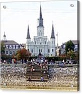 St Louis Cathedral Acrylic Print
