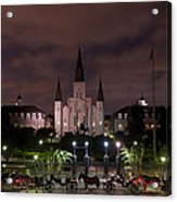 St. Louis Cathedral In Jackson Square Acrylic Print
