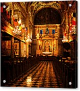 St. Louis Cathedral New Orleans - Textured Acrylic Print