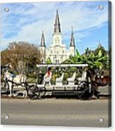 St Louis Cathedral New Orleans Acrylic Print
