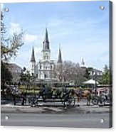St. Louis Cathedral New Orleans Acrylic Print