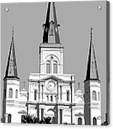 St Louis Cathedral Poster 1 Acrylic Print