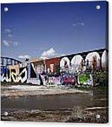 St Louis Graffiti Acrylic Print