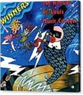 St Louis Music Contest Winners Acrylic Print