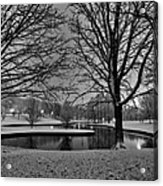 St. Louis - Winter At The Arch 001 Acrylic Print