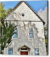 St. Luke African Methodist Episcopal Church - Ellicott City Maryland Acrylic Print