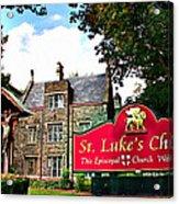 St Lukes Church Acrylic Print