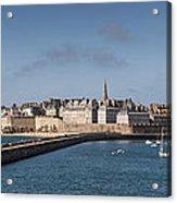St Malo Acrylic Print