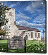 St Marcella's Church Acrylic Print