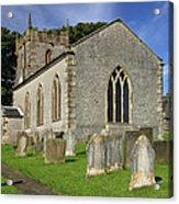 St Margaret's Church - Wetton Acrylic Print