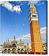 St Marks Square - Venice Italy Acrylic Print