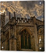 St Martin Coney Street In York Acrylic Print