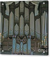 St Martins In The Field Organ Acrylic Print