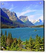 St. Mary Lake,  Glacier National Park Acrylic Print