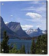 St Mary Lake Vista Acrylic Print