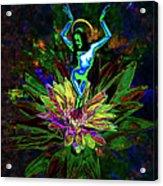 St. Mary Of The Lotus Sta. Maria De El Loto Acrylic Print