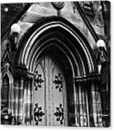 St Marys Cathedral Doors Acrylic Print