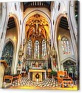 St Mary's Catholic Church - The Altar Acrylic Print