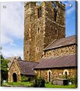 St Mary's Church Conway Acrylic Print