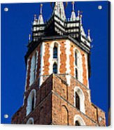St. Mary's Church Tower Acrylic Print