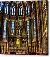 St Matthias Church Interior Acrylic Print
