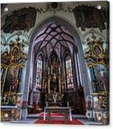 St. Maurice Church - Appenzell - Switzerland Acrylic Print