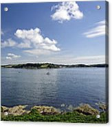 St Mawes From Pendennis Point Acrylic Print