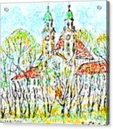 St. Michaeli Church In Munich Acrylic Print