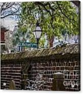 St. Michaels Alley Acrylic Print