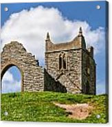 St Michael's Church - Burrow Mump 4 Acrylic Print