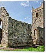 St Michael's Church - Burrow Mump 5 Acrylic Print
