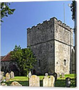 St Michael's Church - Shalfleet Acrylic Print